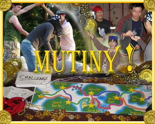 Some friends play-test Mutiny